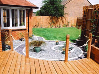 New Lawn, Decking, Paving and Professional Garden Design