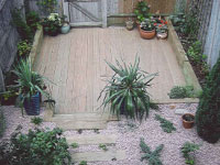 Soft Landscape gardening and Patio in Weybridge Surrey